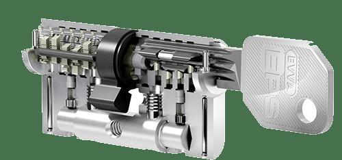 EPS cilindar za vrata